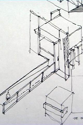 Skizze - Architektur skizze ...