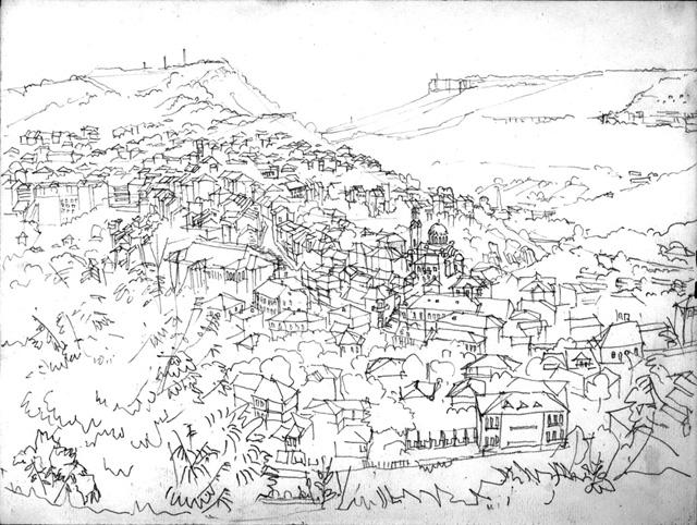 Ein drache - Architektur zeichnen ...