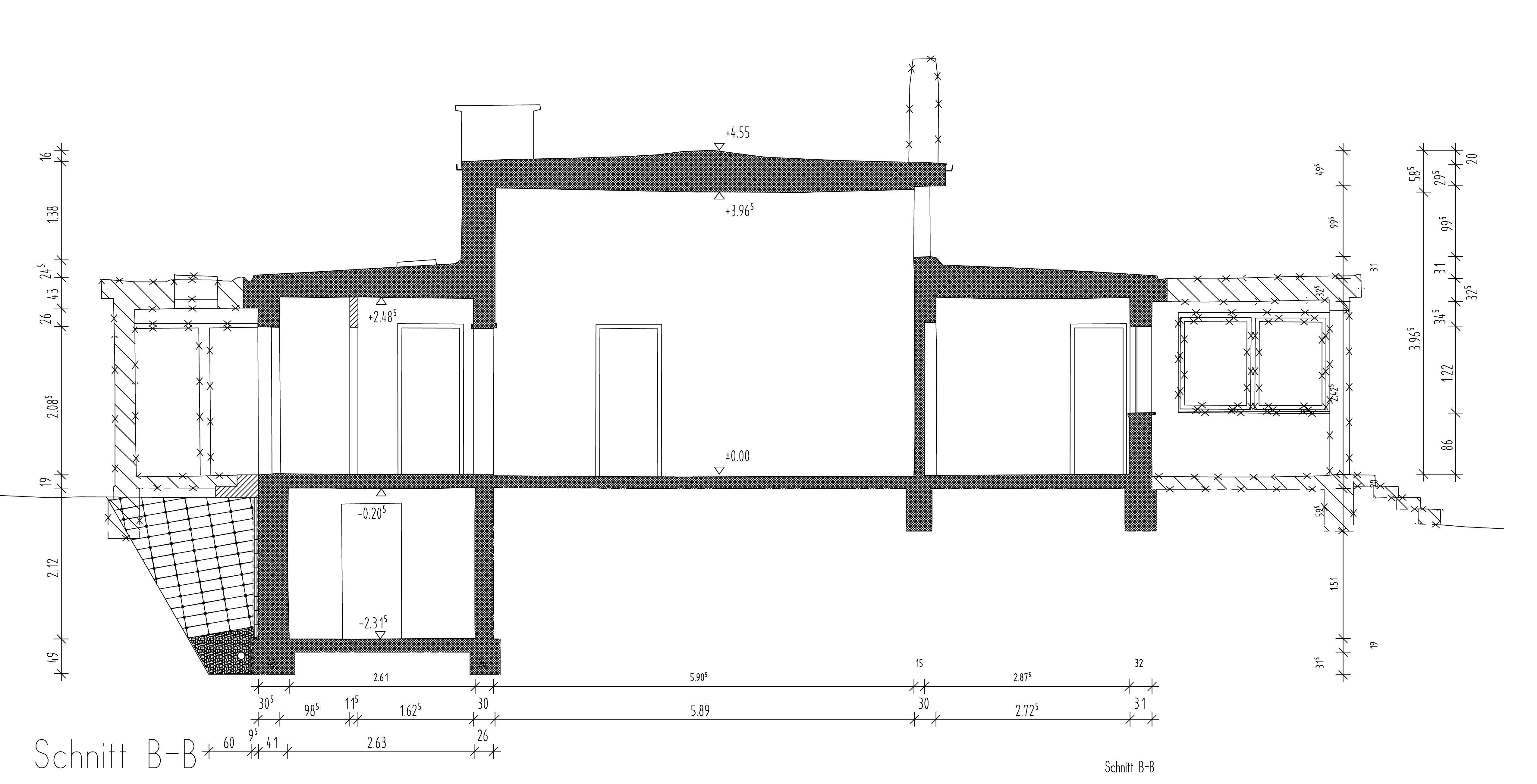 Haus am horn floor plan images for Haus plan