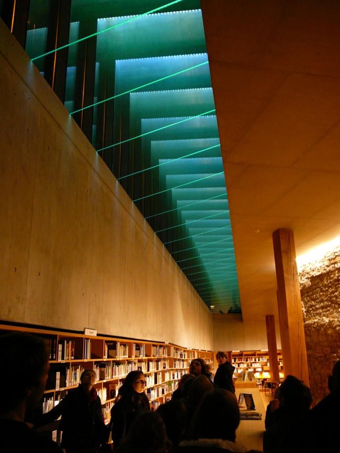 Stadtbibliothek schweinfurt von bruno fioretti marquez for Raumgestaltung architektur