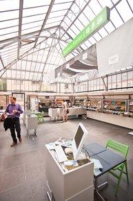 Bauhaus Universität Weimar Bauhausatelier Info Shop Café