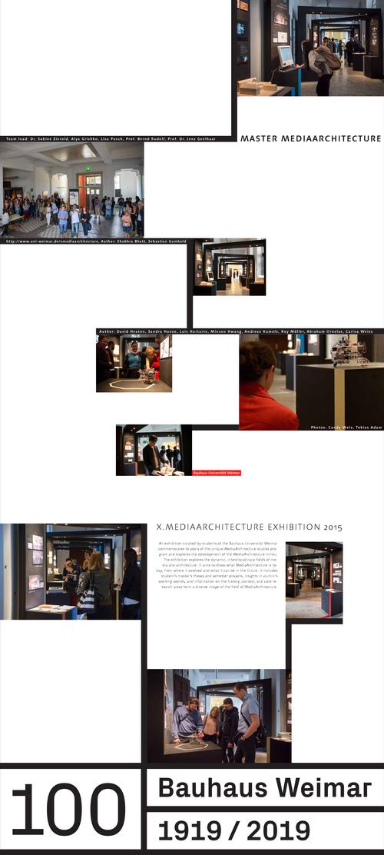 Bauhaus universit t weimar ausstellung bauhaus impuls resonanz im rahmen der designwoche in for Wo architektur studieren
