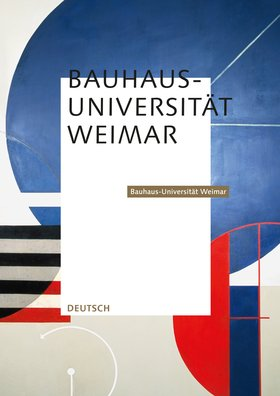 Studiengã¤Nge Mit Design | Bauhaus Universitat Weimar Studienangebote