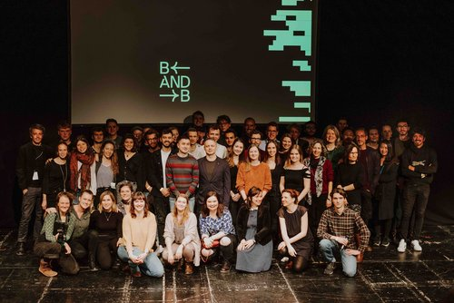 Picture of the awarded film makers, Photo: Jana Köhler