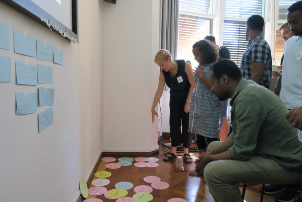 ECL-AA Weimar conducts a scientific writing workshop