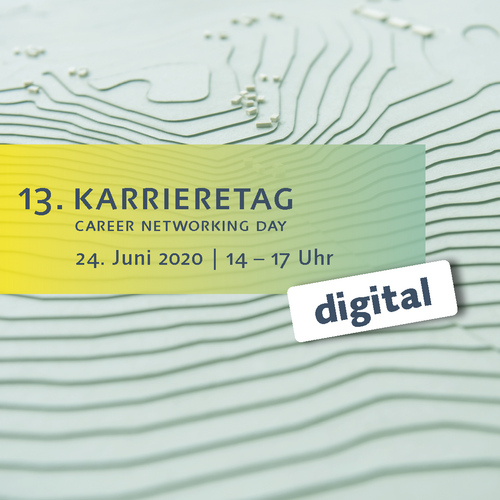 Grafik zum Karrieretag Digital 2020