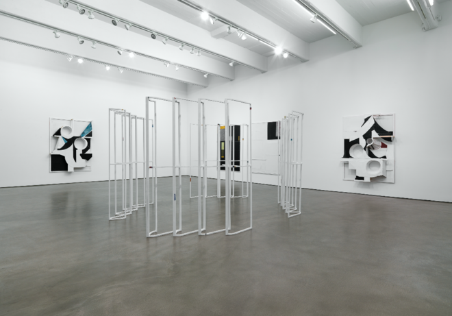 Ausstellungsansicht »Spot«, Zach Feuer Gallery New York, 2012, photo: Christopher Burke Studios