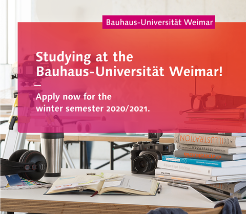 Studying at the Bauhaus-Universität Weimar