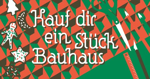 saturday, 14. december 2019, 10-18 o'clock Grafik zum Bauhaus Weihnachtsmarkt 2019