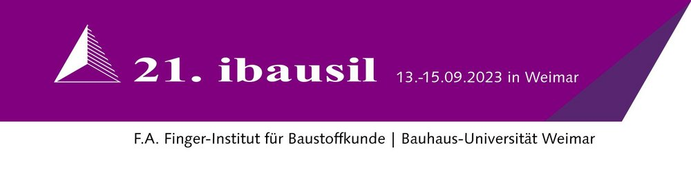 Logo der 21. Internationalen Baustofftagung 2021