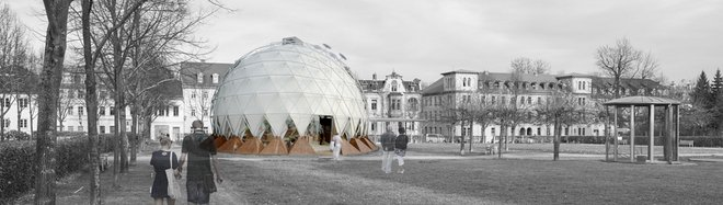 The climate pavilion (Credit: reich.architekten)