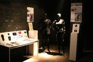 "Exhibiting our student project ""Exploring/Self-made textile Sensors""."