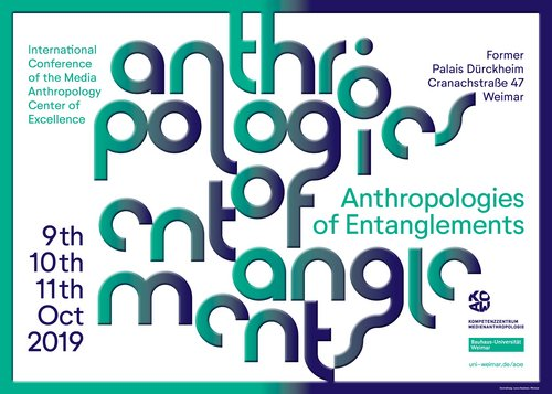 The Media Anthropology Centre of Excellence is closing its five-year funding period with an international conference from 9 to 11 October 2019. Anyone interested is welcome to join us! (Photo: event poster)