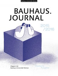 Cover des Bauhaus.Journal 2015/2016