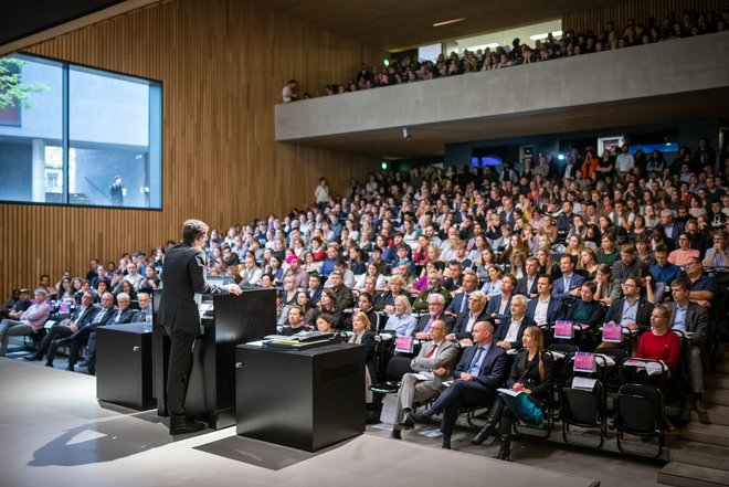 Photo: Matriculation ceremony 2019 Bauhaus-Universität Weimar.