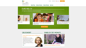 Joint website of all 13 organizations for the promotion of young talent www.stipendiumplus.de