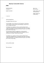 Bauhaus Universität Weimar Briefbögen Und Faxvorlagen