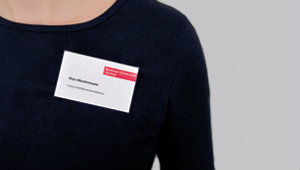 Image of a name tag