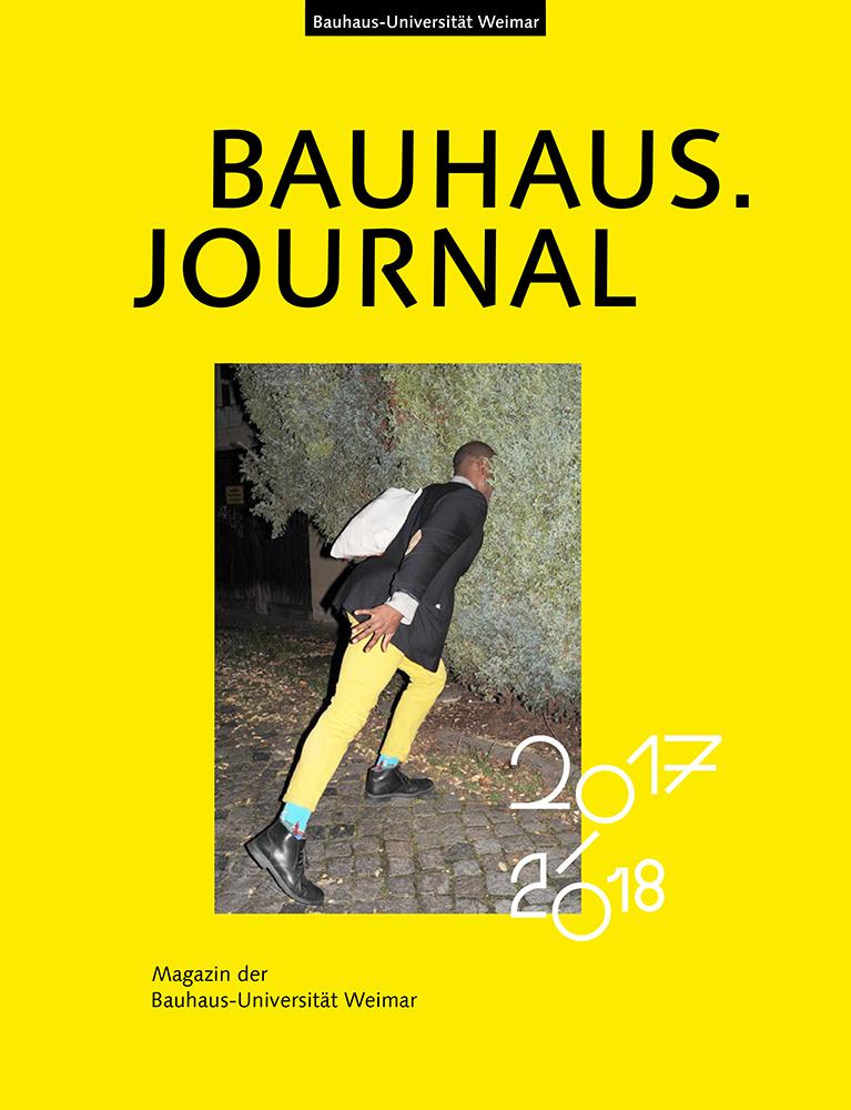 bauhaus universit t weimar bauhaus journal 2017 2018. Black Bedroom Furniture Sets. Home Design Ideas