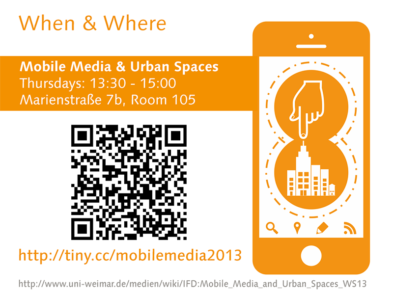 Mobile Media and Urban Spaces