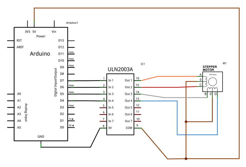 6 Wire Stepper Motor Arduino - impremedia.net