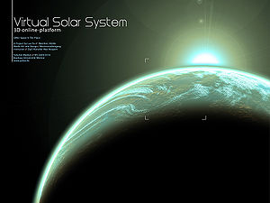 GMU:Space Is The Place/projects/Virtual Solar System
