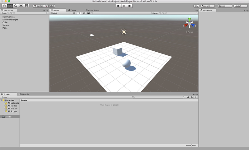 GMU:Tutorials/NETWORKING/CONTROLLING THE CAMERA IN UNITY