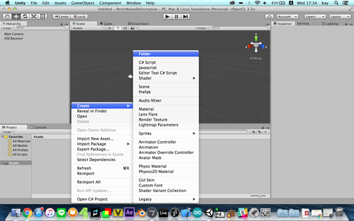 GMU:Tutorials/Visual Interaction/How to Control Unity with MaxMsp