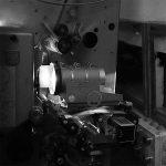 Kinoprojektor für 35-mm-Film.