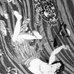 Tamatori's escape from Ryūjin and his sea creatures
