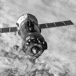 ISS-44 Soyuz TMA-15M spacecraft undocks.