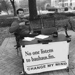 No one listens to bauhaus.fm. Change my mind.