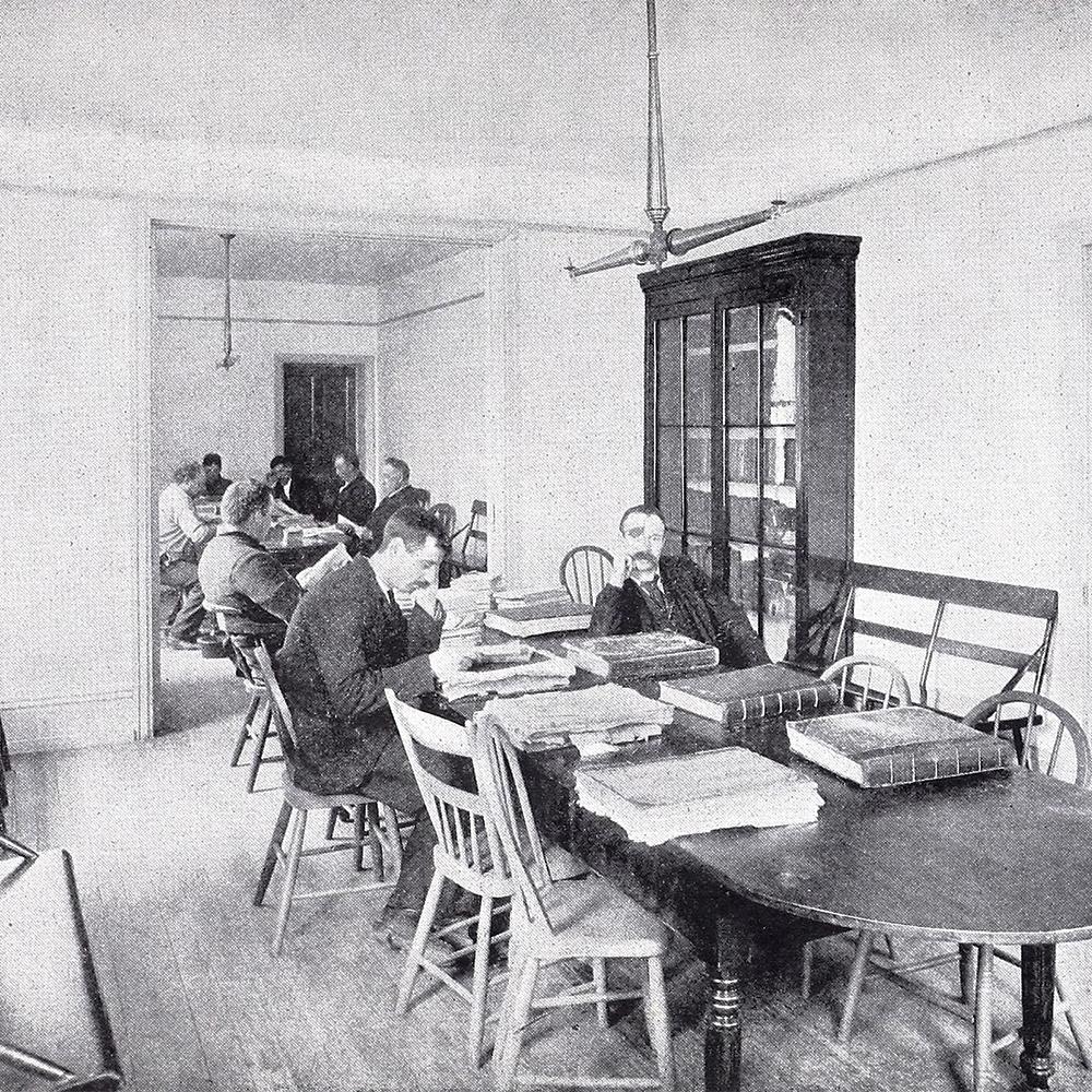House of Industry, Men's Reading Room, 712-718 Catharine Street, Philadelphia PA.