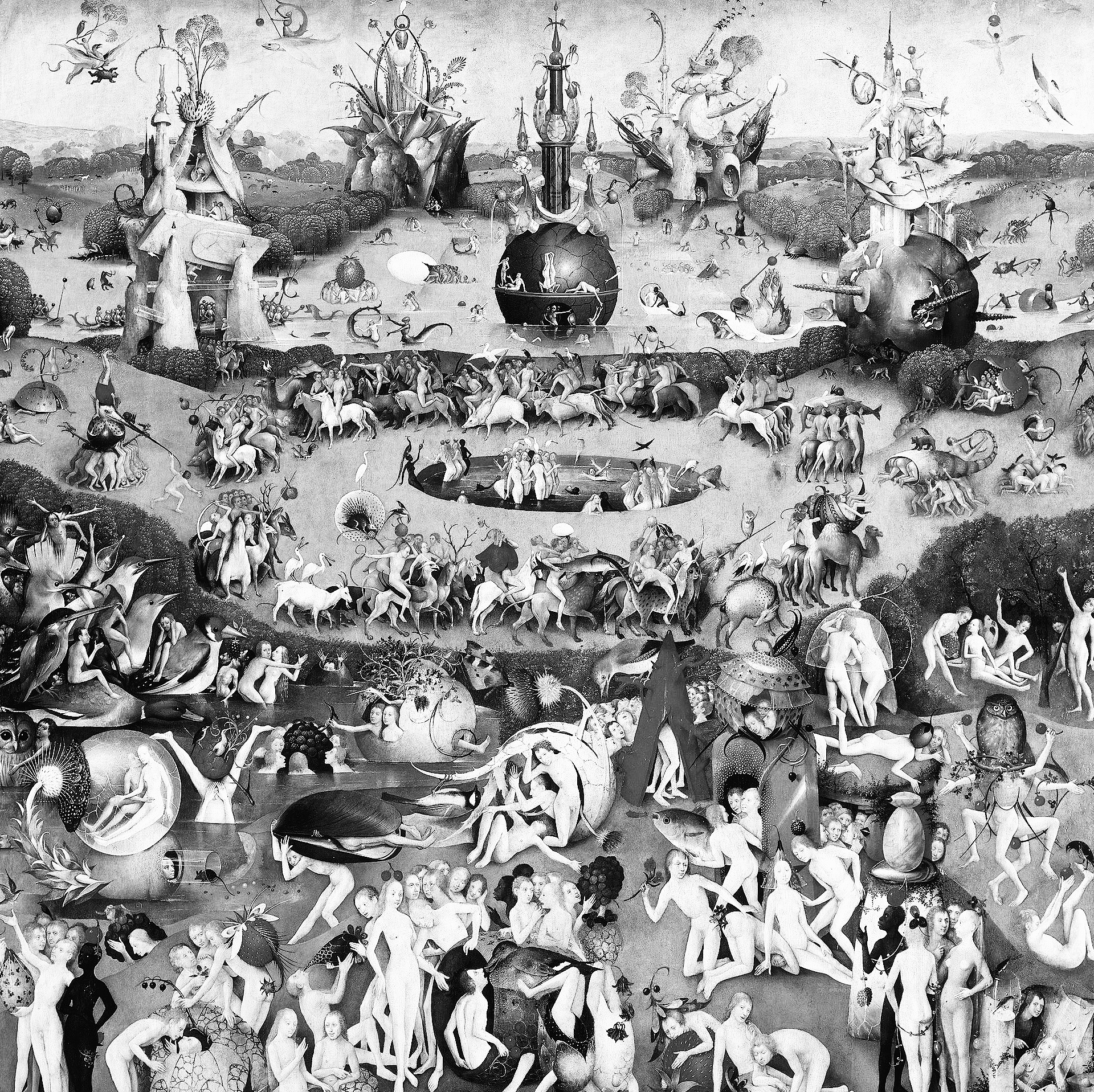 Hieronymus Bosch, The Garden of Earthly Delights.