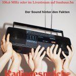 Poster Radiogespräch Tobias Barth.