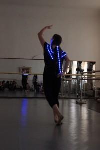 Anna-Judica dancing.